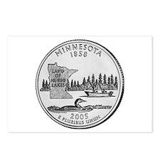 2005 Minnesota State Quarter Postcards (Package o