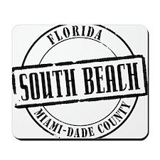 South Beach Title Mousepad