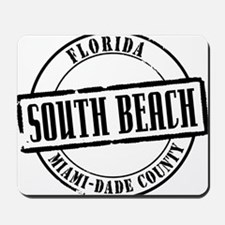 South Beach Title Mousepad