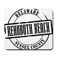 Rehoboth Beach Title Mousepad
