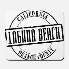Laguna Beach Title Mousepad