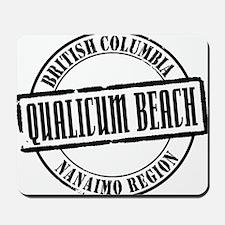 Qualicum Beach Title Mousepad