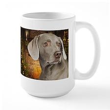 Weimaraner Holiday Mug
