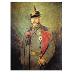General Paul von Hindenburg, c.1916 (oil on canvas Framed Print