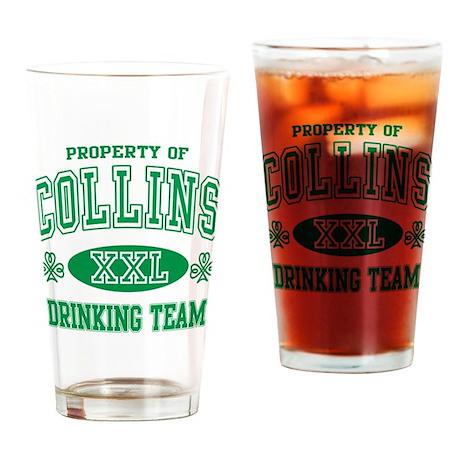Collins Irish Drinking Team Drinking Glass