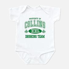 Collins Irish Drinking Team Infant Bodysuit