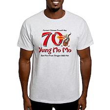 Yung No Mo 70th Birthday T-Shirt