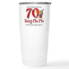 Yung No Mo 70th Birthday Travel Mug