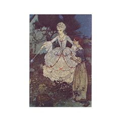 Dulac's Cinderella Rectangle Magnet