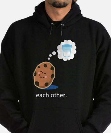 Couples Made For Each Other Hoodie (dark)