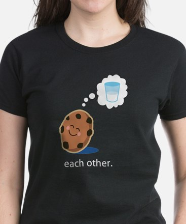 Couples Made For Each Other Women's Dark T-Shirt