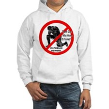 No Praying In Public Schools Hoodie