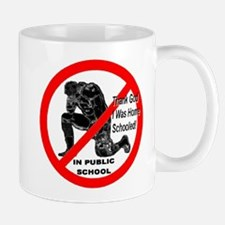 No Praying In Public Schools Mug