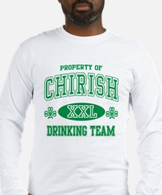 Chirish Drinking Team Long Sleeve T-Shirt