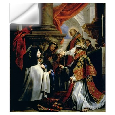 Communion of St. Teresa of Avila (1515-82) c.1670 Wall Decal