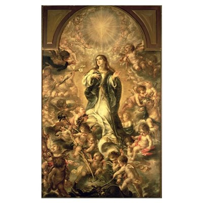 Immaculate Conception, 1670-1672 (oil on canvas) Poster
