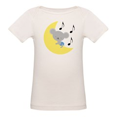 Music Mouse Baby Organic Baby T-Shirt