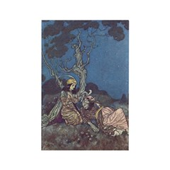 Dulac's Beauty & the Beast Rectangle Magnet