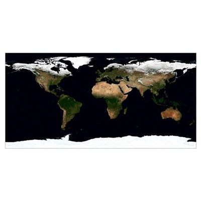 Global image of our world Poster