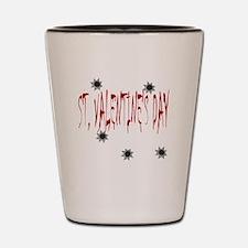 St Valentine's Day Massacre Shot Glass