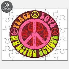 Peace, Love, Nursing School Puzzle