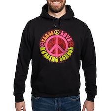 Peace, Love, Nursing School Hoodie