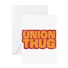 Pro Union Pro American Greeting Card