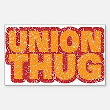 Pro Union Pro American Sticker (Rectangle 10 pk)