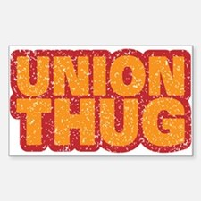Pro Union Pro American Sticker (Rectangle)