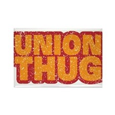 Pro Union Pro American Rectangle Magnet