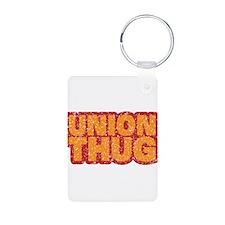 Pro Union Pro American Aluminum Photo Keychain