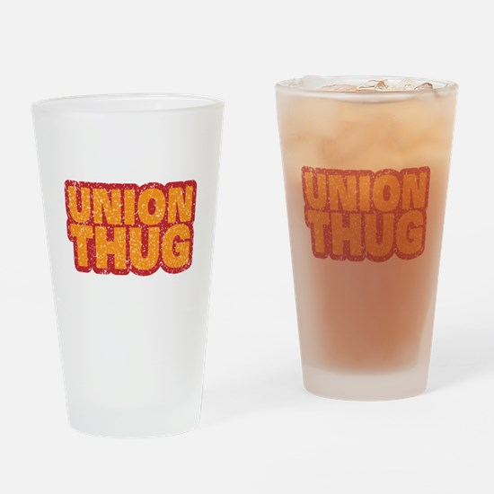 Pro Union Pro American Drinking Glass