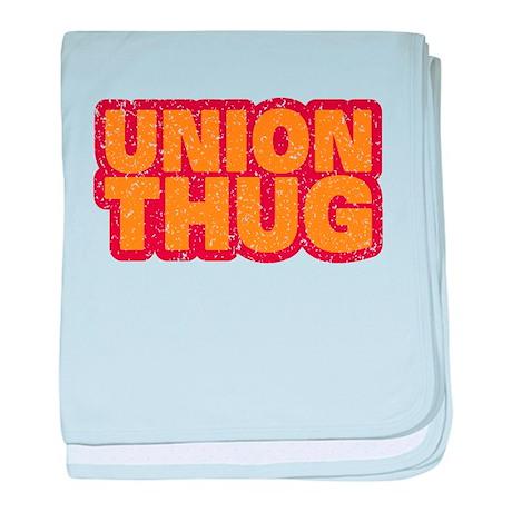 Pro Union Pro American baby blanket