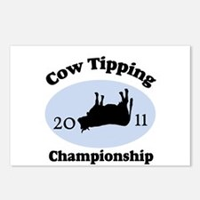 Cow Tipping Championship 2011 Postcards (Package o