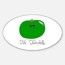 Tio Tomatillo Sticker (Oval)