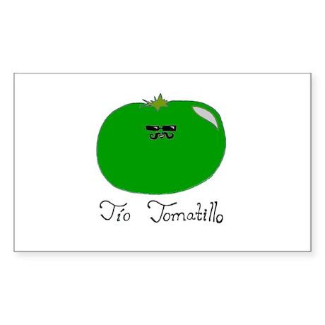 Tio Tomatillo Sticker (Rectangle)