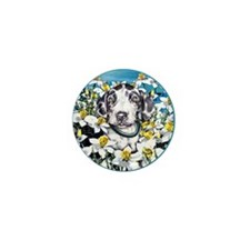 Great Dane Harle Daffodils Mini Button