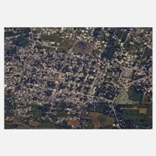 An aerial view of PortauPrince Haiti
