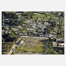 Aerial view of PortauPrince Haiti