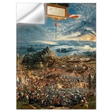The Battle of Issus, or The Victory of Alexander t Wall Decal