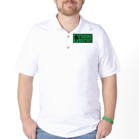 Finding Bigfoot logo Golf Shirt