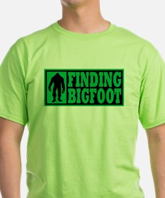 Finding Bigfoot logo T-Shirt