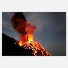 Stromboli eruption Aeolian Islands north of Sicily