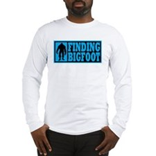 Finding Bigfoot logo Long Sleeve T-Shirt