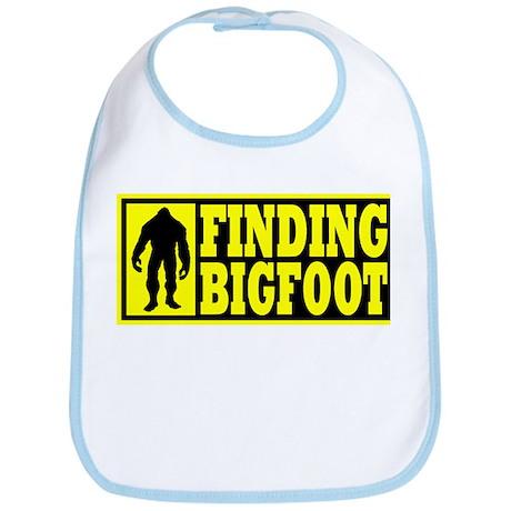 Finding Bigfoot logo Bib