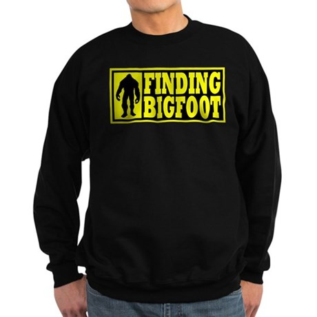Finding Bigfoot logo Sweatshirt (dark)