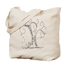 Cute Curiouser and curiouser Tote Bag