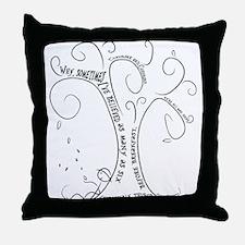 Cute Lewis carroll Throw Pillow