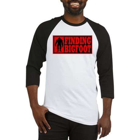 Finding Bigfoot logo Baseball Jersey