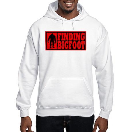 Finding Bigfoot logo Hooded Sweatshirt